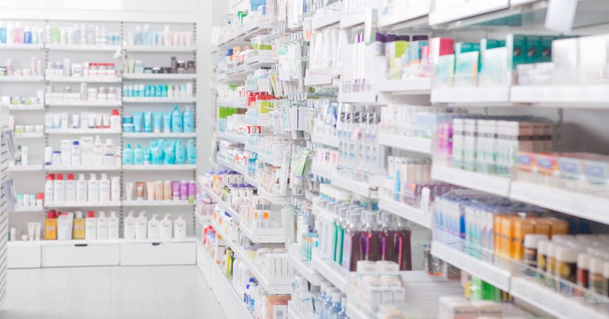 expositores de publicidad en farmacias
