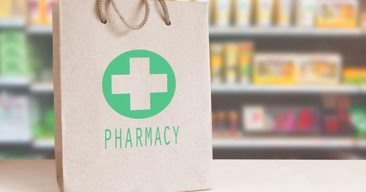 packaging ecológico de farmacias