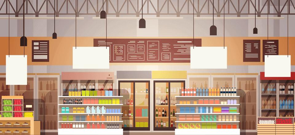 render plv merchandising supermercado