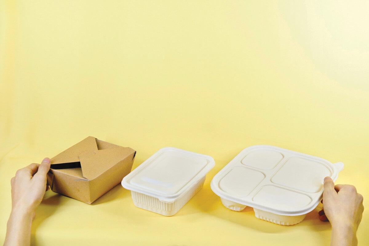 packaging ecológico reutilizable para comida
