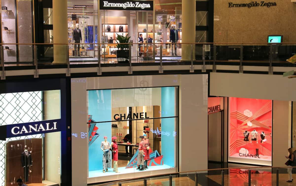 escaparatismo tiendas centro comercial