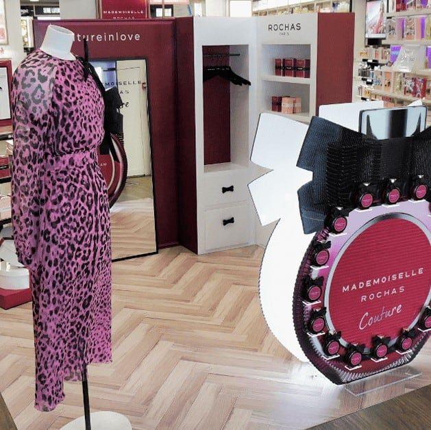 Rochas, corner de promoción – PLV de perfumes